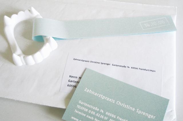 Mailing zur Eröffnung